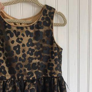 -EMILY WEST- girls formal leopard party dress